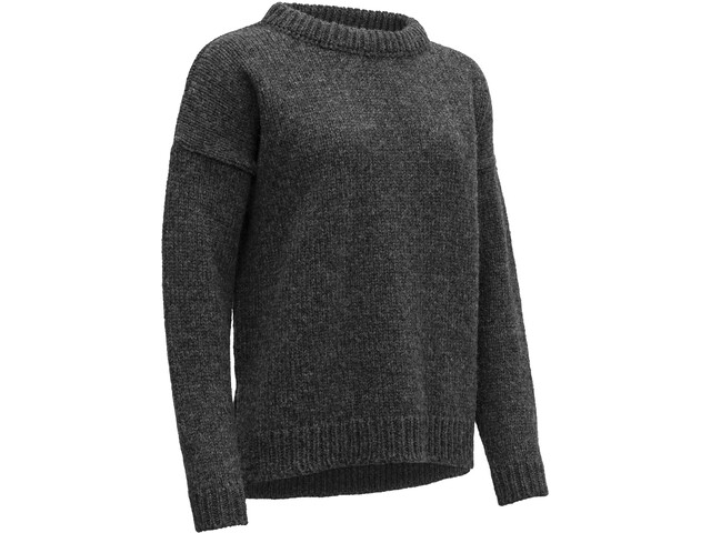 Devold Nansen Suéter Costura Dividida Mujer, anthracite